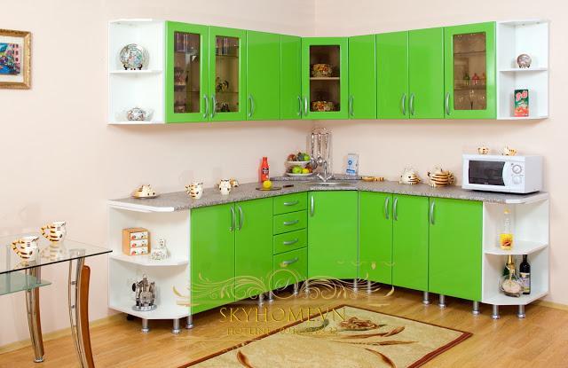 Tủ bếp phong cách Rustic - Mẫu số 5