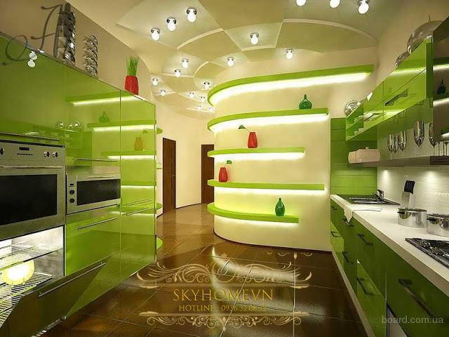 tủ bếp thời đại mới - mẫu số 5
