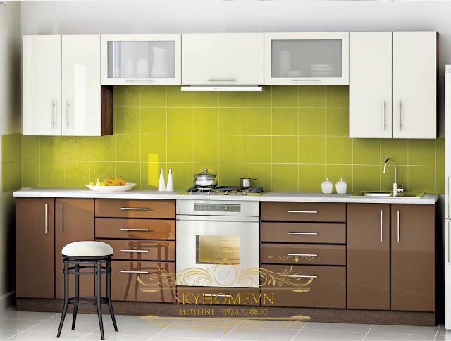 thiết kế tủ bếp đẹp - mẫu số 5