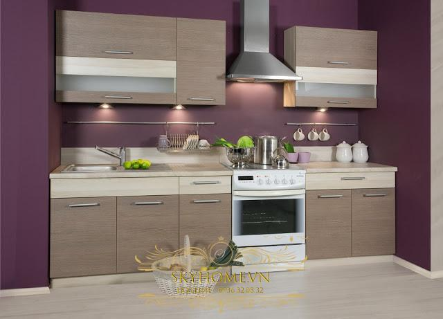 thiết kế tủ bếp đẹp - mẫu số 4