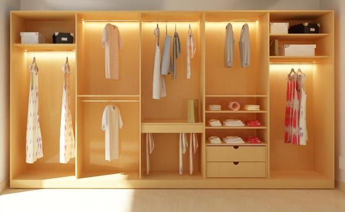 Tủ quần áo cũng nên đặt cho hợp phong thủy
