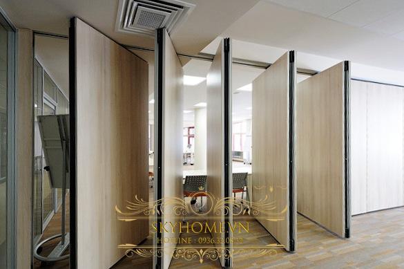 vách ngăn di động văn phòng- mẫu 5