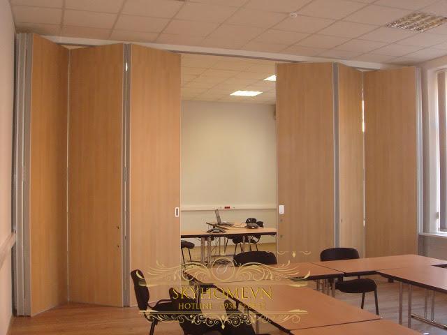 vách ngăn di động văn phòng- mẫu 7