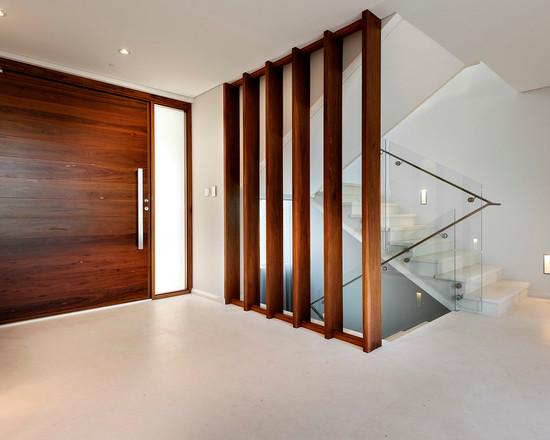 vách ngăn gỗ cầu thang- mẫu số 1
