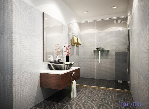 vách tắm kính an toàn