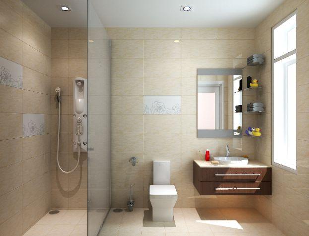 Vách tắm kính cho không gian phòng tắm hiện đại