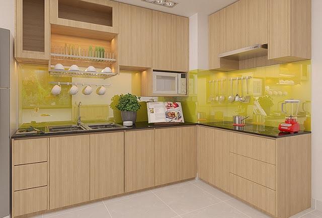 tủ bếp đẹp- mẫu số 3