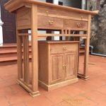 Sập thờ gỗ đẹp