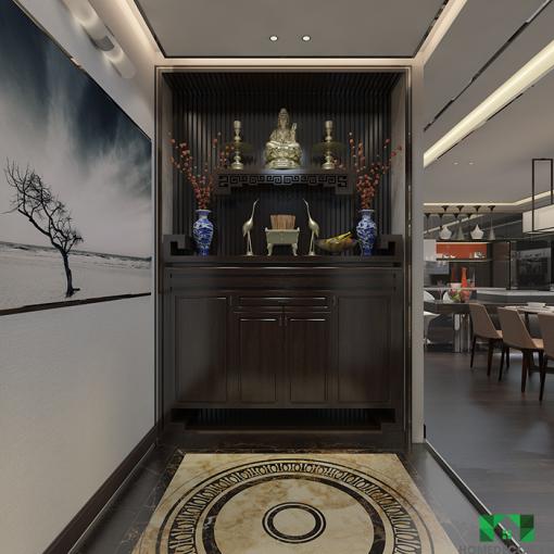 Bàn Thờ Phật Cho Chung Cư Và Biệt Thự Hiện đại