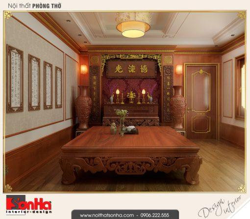 Mẫu Phòng Thờ đẹp Dành Cho Biệt Thự Tân Cổ điển