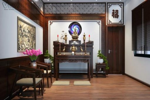 Phòng Thờ Của Nhà Khách Hàng Phú Cường