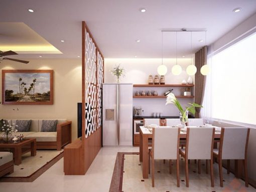 Vách Ngăn Phòng Khách Và Phòng ăn