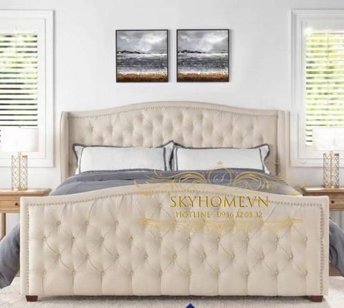 Thiết kế giường sang trọng mẫu 4
