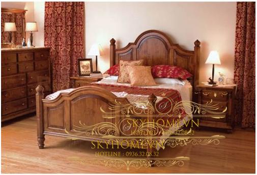 Thiết kế giường sang trọng mẫu 7