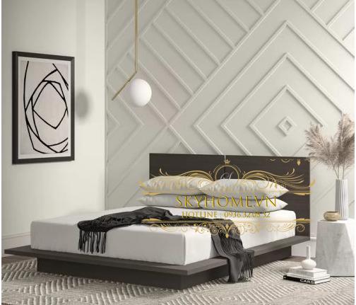 Thiết kế giường sang trọng mẫu 6