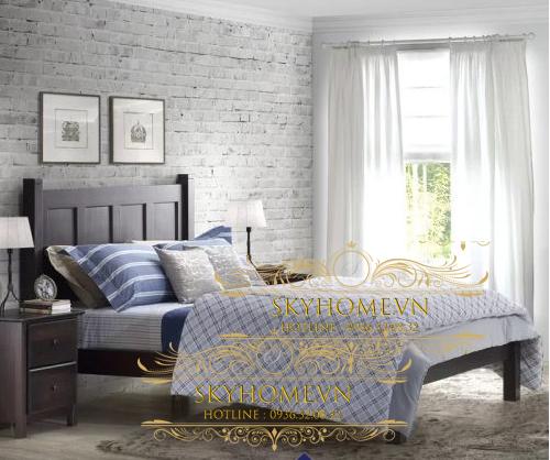 Thiết kế giường sang trọng mẫu 5