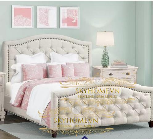 Thiết kế giường sang trọng mẫu 2