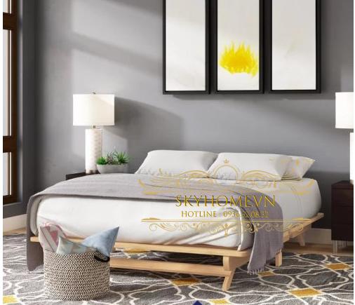 Thiết kế giường sang trọng mẫu 9